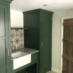 Made to measure fitted utility room carpenters basingstoke