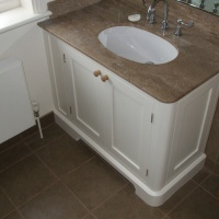 Bathroom Vanity unit with Stone top
