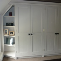 Built in bedroom furniture supplied and installed