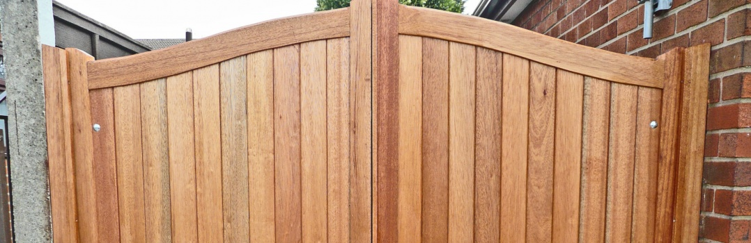 bespoke wooden gates Hampshire